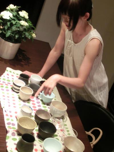 コーヒーくろねこ舎のオーナーmotokoさん。